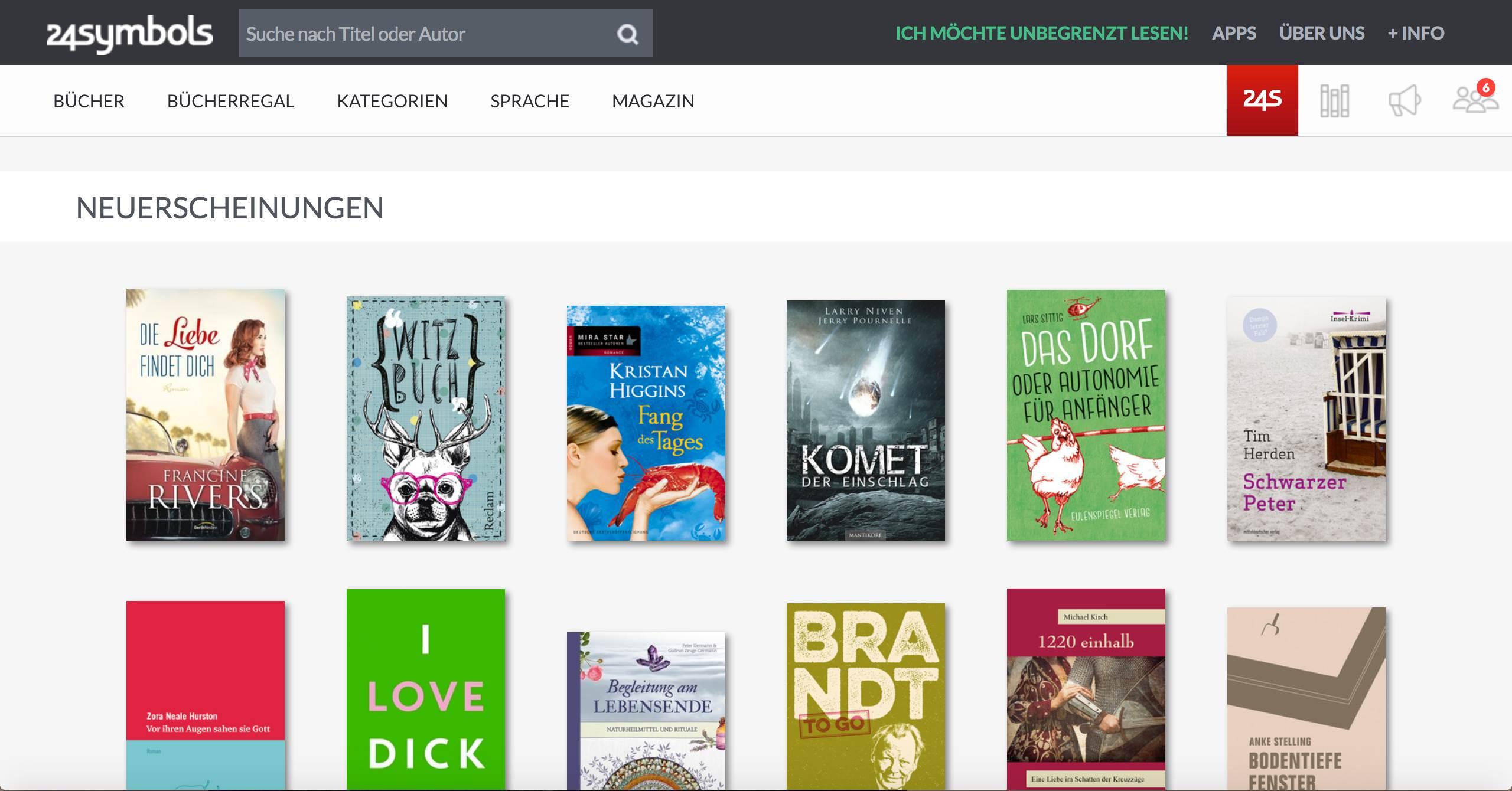 Willkommen in Ihrer neuen digitalen Bibliothek